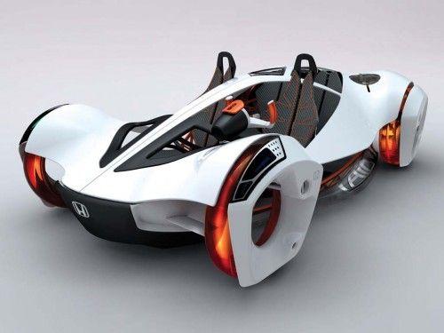 Cool Futuristic Car Concept : Boxy Shape Exterior Nissan Townpod ...