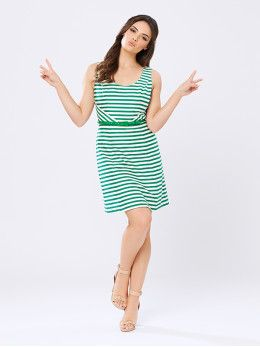 Rosalia Stripe Dress