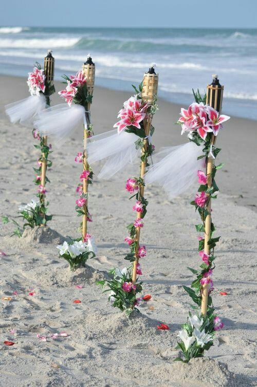 1000 ideas about hawaiian wedding themes on pinterest for Antorchas para jardin