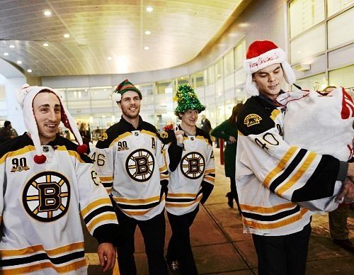Boston Bruins Christmas