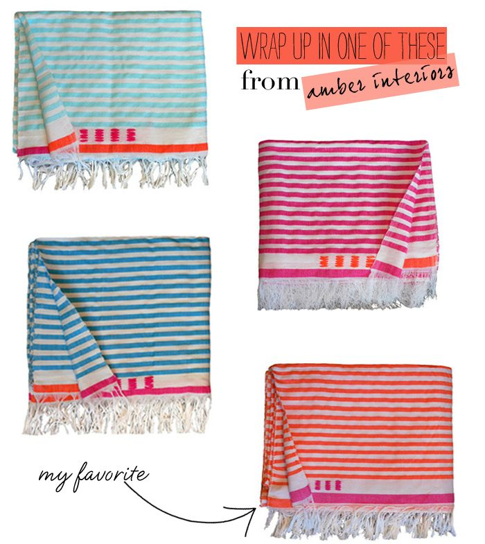Luella & June: (BEACH) BLANKETS