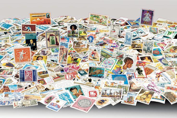 2000 Francobolli di tutto il mondo
