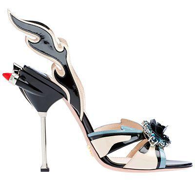 prada car shoes