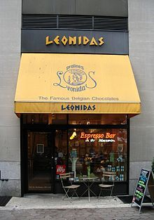 Leonidas has 350 shops in Belgium and nearly 1,250 stores in around 50 countries including 340 in France. Leonidas has become one of the highest producing, widespread chocolate companies in the world.
