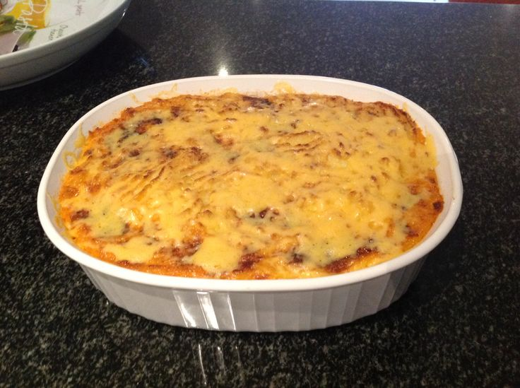 Delicious Tim Noakes carb free Sheperd's Pie with Cauli-mash