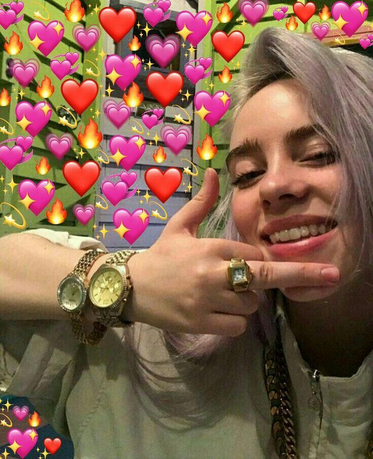 Pin De 𝚕𝚢𝚗𝚜𝚎𝚢 Em Memes Memes Apaixonados Billie Eilish Billie