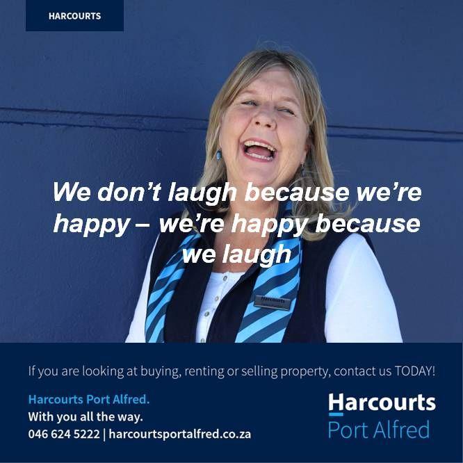 #FunandLaughter #Harcourts #PortAlfred #LoveMyJob