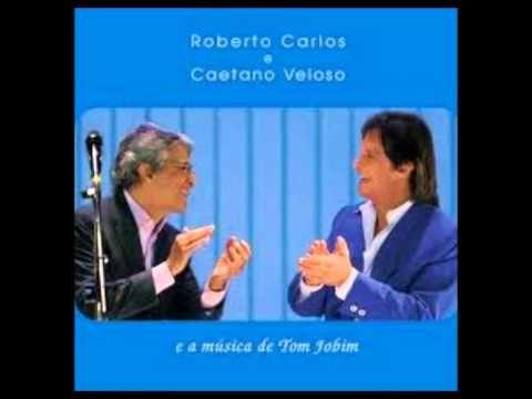 CD Roberto Carlos e Caetano Veloso e a Música De Tom Jobim 2008 - CD COM...
