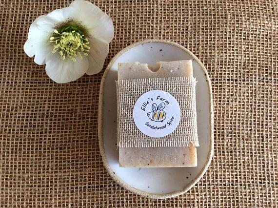 Soap Dish and Soap Natural Soap and Dish Ceramic Soap Dish #naturalsoap #handmadesoap #soapdish #artisansoap