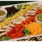 Grilled Mexican Salad with Cumin Lime dressingMexican Chicken, Fun Recipe, Chicken Salads, Mexicans Chicken Salad, Grilled Mexicans, Grilled Chicken, Mexicans Recipe, Limes Vinaigrette, Cumin Limes