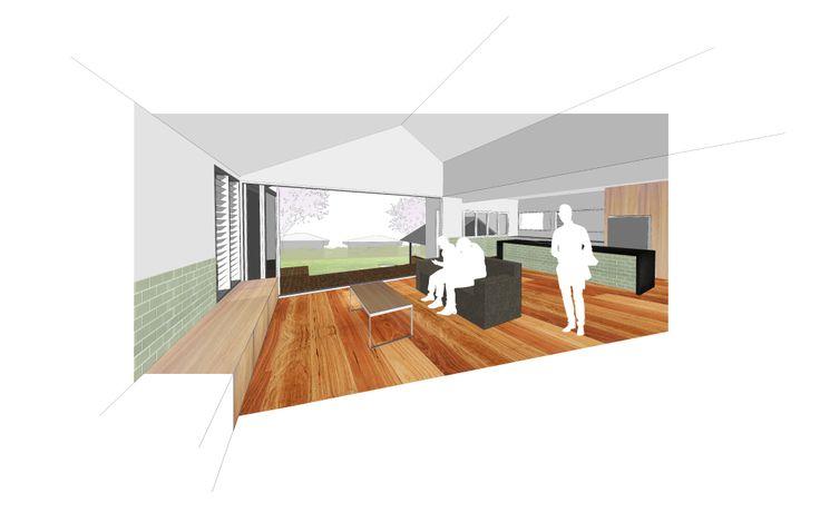 Coorparoo House Render 03