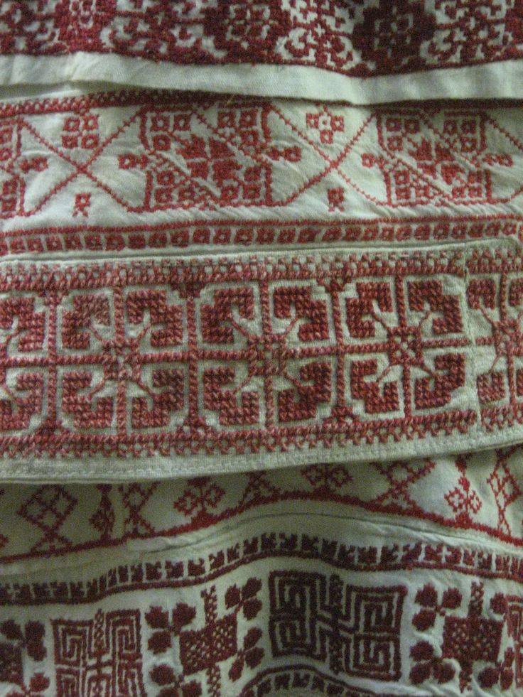 Cross stitc, Karelian patterns