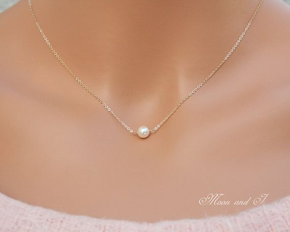 1000 ideas about single pearl necklace on pinterest