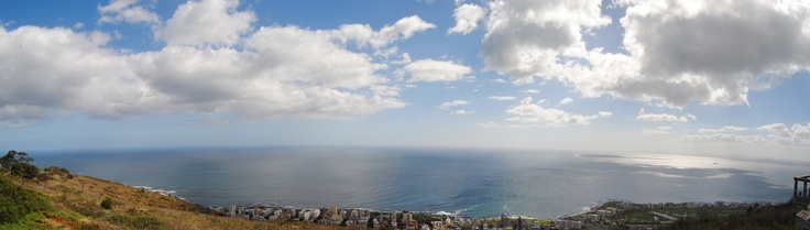 View from Signal Hill, Cape Town, South Africa