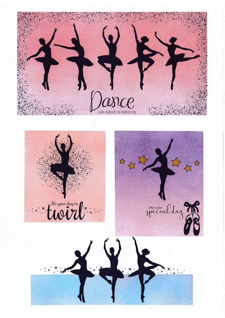 Twirling Ballerinas