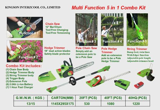 36V outdoor power equipment from kingson interzcool co., limited