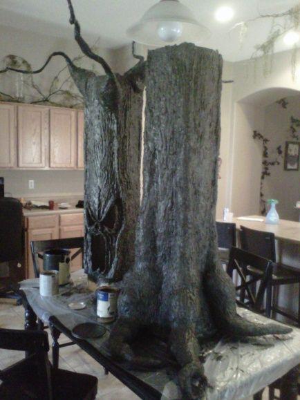 super amazing diy halloween tree