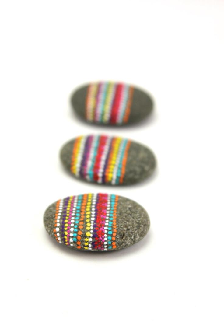 Springtime Trio / Alaska Series / 3 stone gift set by Amy Komar