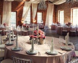 Свадьба в лофте: агентство Шенонсо организует свадьбу в стиле Loft в Москве.