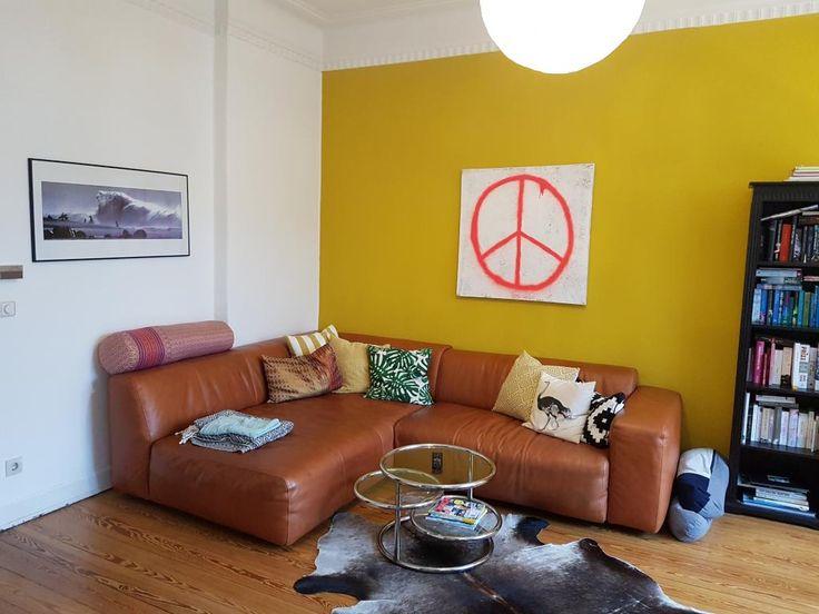Die besten 25+ Eingerichtetes Wohnzimmer Ideen auf Pinterest - orange wand wohnzimmer