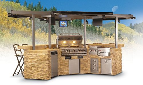 bbq islands   Gourmet 3000 Sports Bar & Grill Barbecue ...