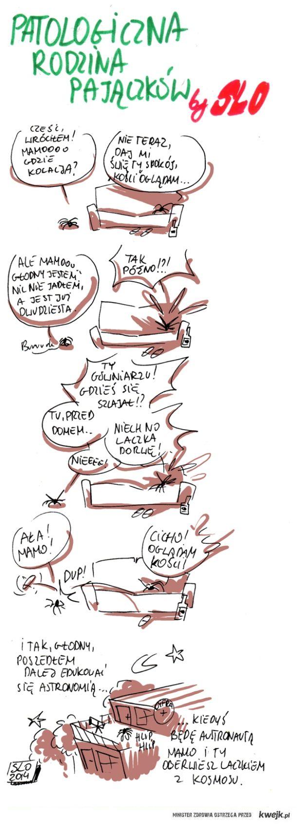 Patologiczna rodzina Pajączków