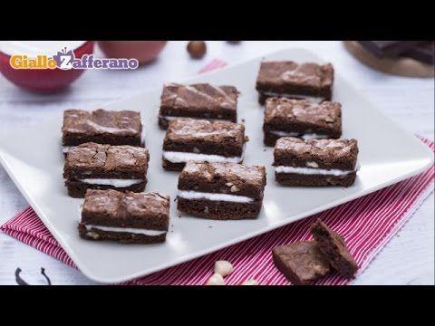 Ricetta Sandwich di brownies al cioccolato - Le Ricette di GialloZafferano.it