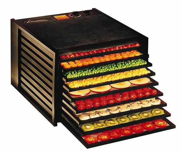 Excalibur 9 tray dehydrator with 26hr timer. The Highest Quality, Most Versatile Food Dehydrator You Can Buy!