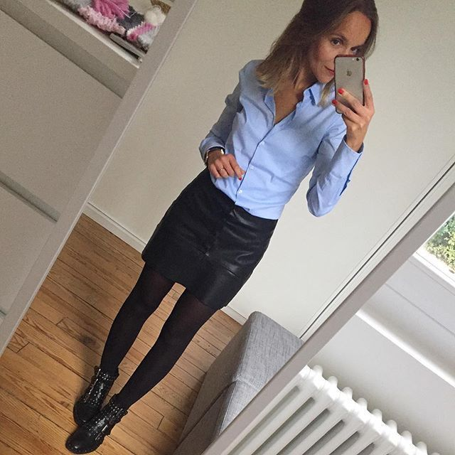Jupe ✔️ # tenue # lookoftheday # dailylook # dail … – #shirt # jupe #outfi …   – Alice
