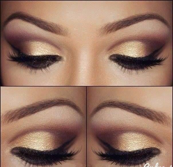 złoty makijaż ślubny - Szukaj w Google