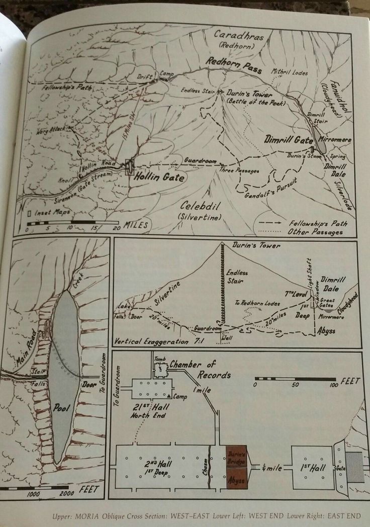 Map For Lord Of The Rings%0A Karen Wynn Fonstad  maps of Moria as described by JRR Tolkien in Lord of  the
