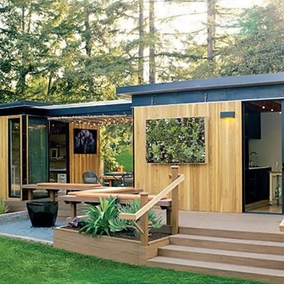 Dream studio space in the woods.