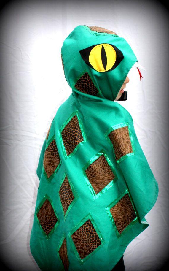 snake costume cape   - girl boy costume - fancy dress - halloween - party - kids on Etsy, $60.00 AUD
