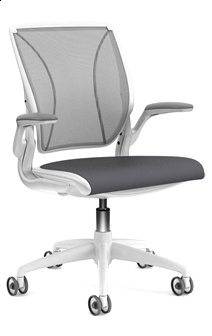The most comfortable office chair you'll never find. Designed by Niels Diffrient and made by Humanscale!