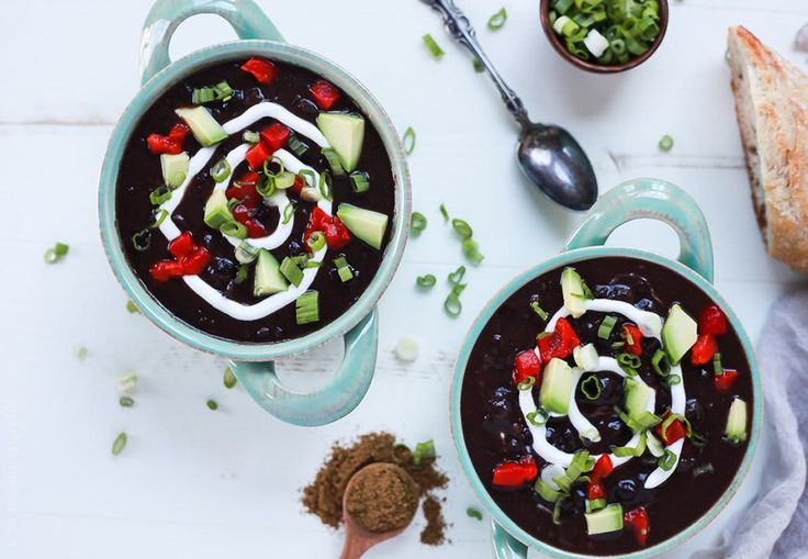 When you need a break from meat, we've got you covered. High protein soups and stew recipes.