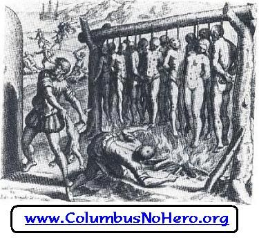 christopher columbus and genocide Celebrating columbus day is celebrating racist genocide imagine no more because that's the outlandish racist genocide christopher columbus columbus ' evil.
