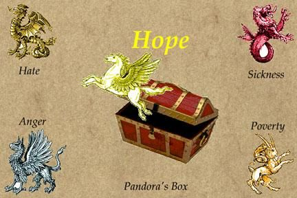 The punishment for curiosity in the myth of pandoras box