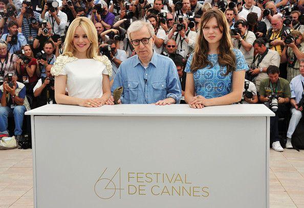 Woody Allen & Rachel McAdams & Lea Seydoux - Midnight In Paris Photocall - 64th Annual Cannes Film Festival