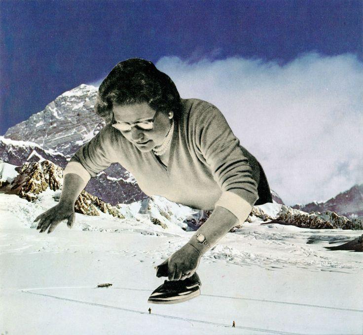 Sammy Slabbinck The Christmas Exhibition collage 6