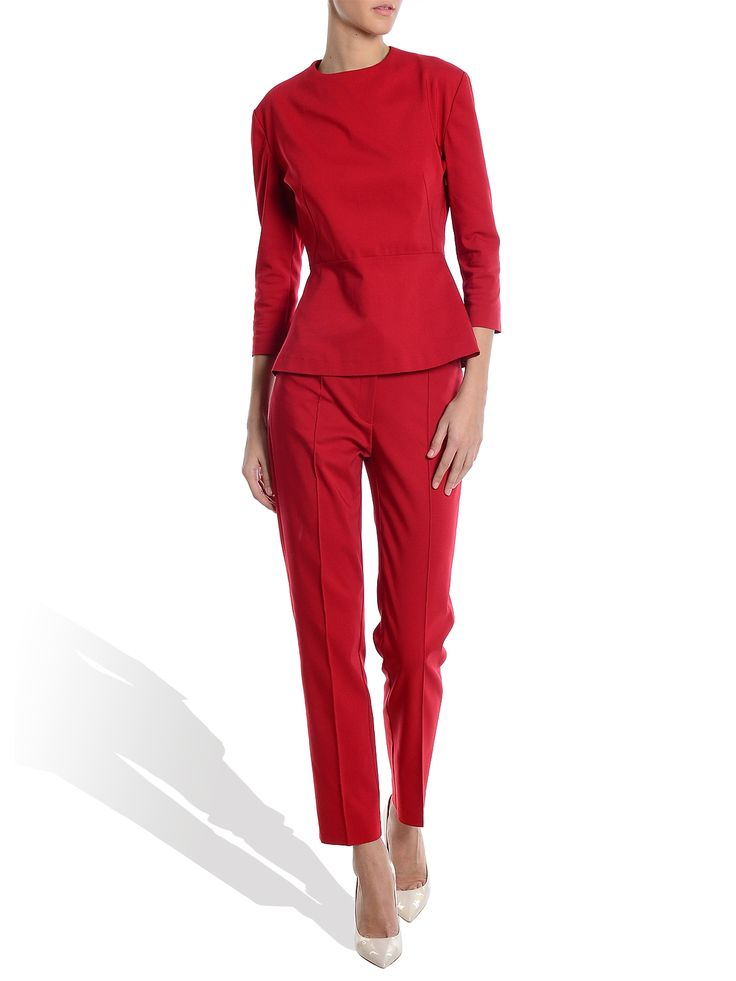 Molecule f - Pantaloni rosii - lc105