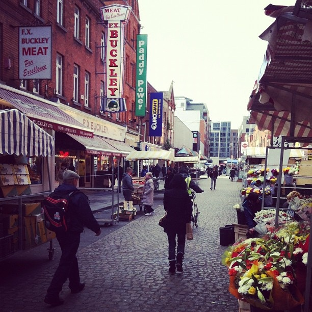 Moore St - one of the most famous streets in Dublin city centre #dublin #markets