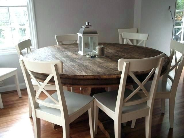Round Extending Table And Chairs