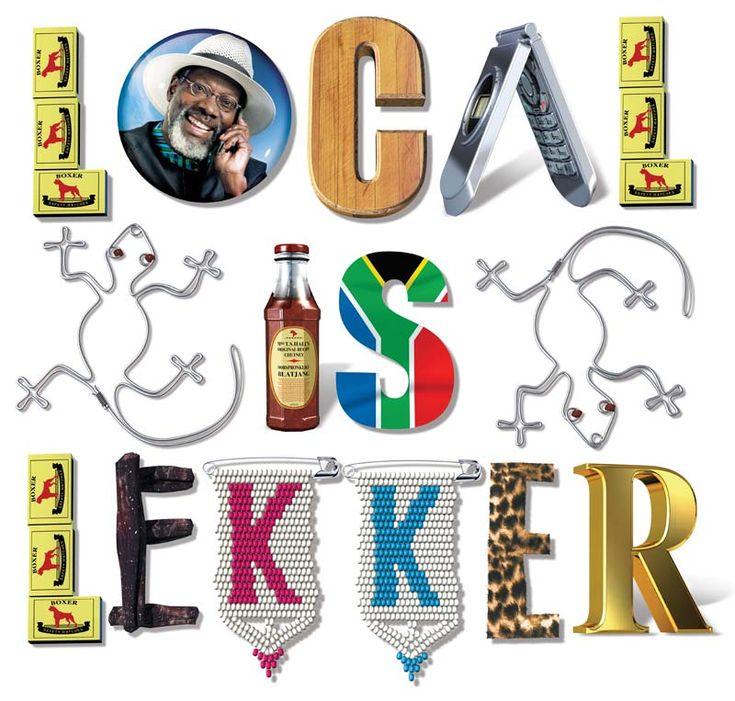 Funky Doodle Donkey: ~ Local is Lekker ~