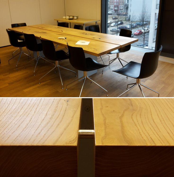 Mit unseren maßgeschneiderten Lösungen für Büros und Konferenzräume sorgst du in jedem Meeting für eine angenehme und stilvolle Atmosphäre #schönerarbeiten
