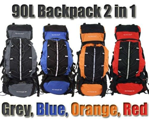Travel Backpack 90L 2 in 1