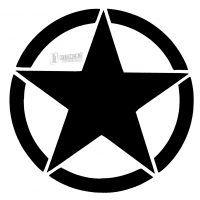 Army Star Stencil