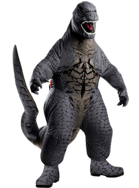 I know what Sage will want to be for Halloween this year...Boys Godzilla Costume Deluxe - Party City