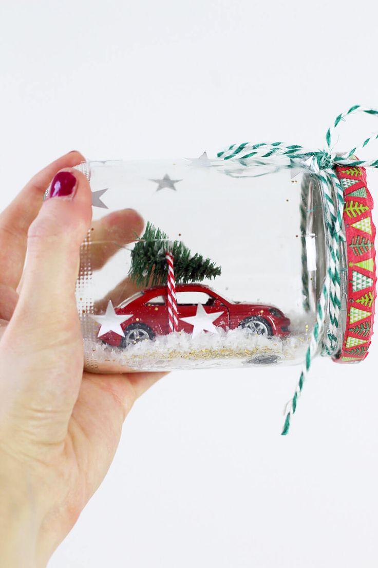 die besten 25 schneekugel selber machen ideen auf pinterest schneekugel weihnachten. Black Bedroom Furniture Sets. Home Design Ideas