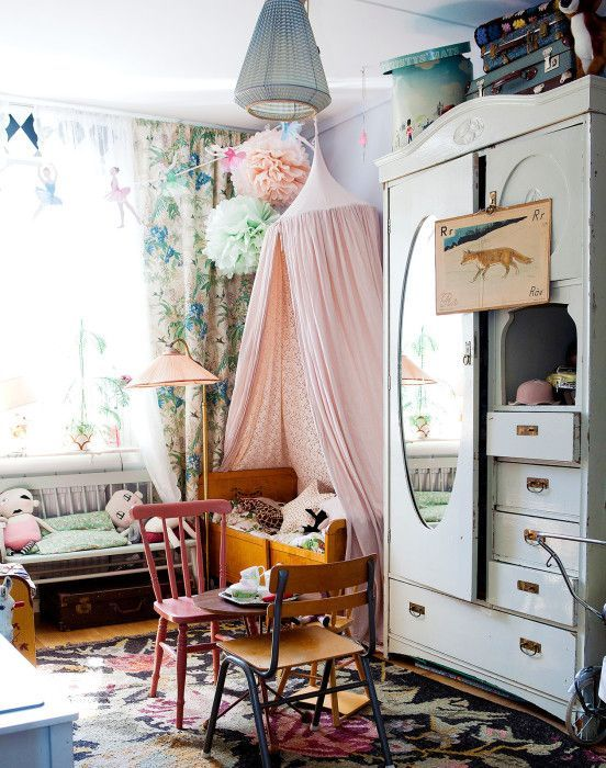sweet little fairy tail room