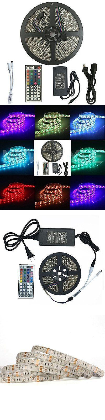 Other Handcrafted Home Accents 160657: Waterproof 300Led Flexible Color Changing Light Strip Kit For Indoor Use 16.4Ft -> BUY IT NOW ONLY: $34.95 on eBay!